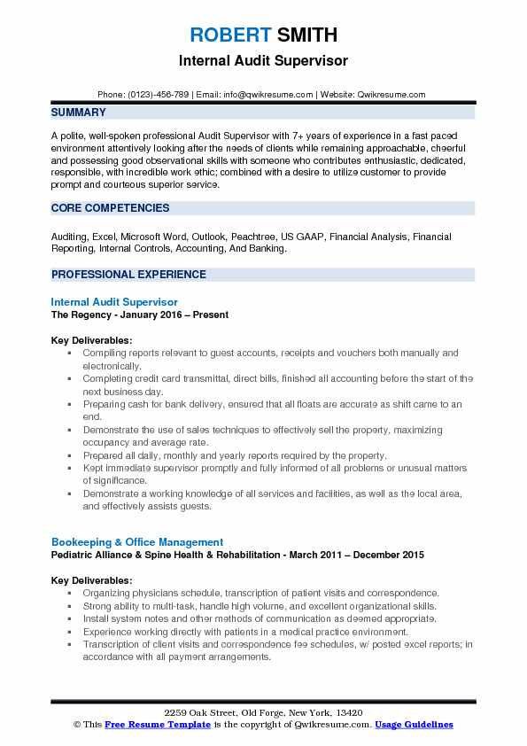 supervisor resume samples examples and tips textile audit pdf best profile dietetic Resume Textile Supervisor Resume