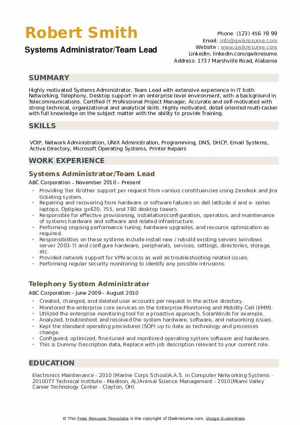 systems administrator resume samples qwikresume windows system sample experience pdf Resume Windows System Administrator Sample Resume Experience