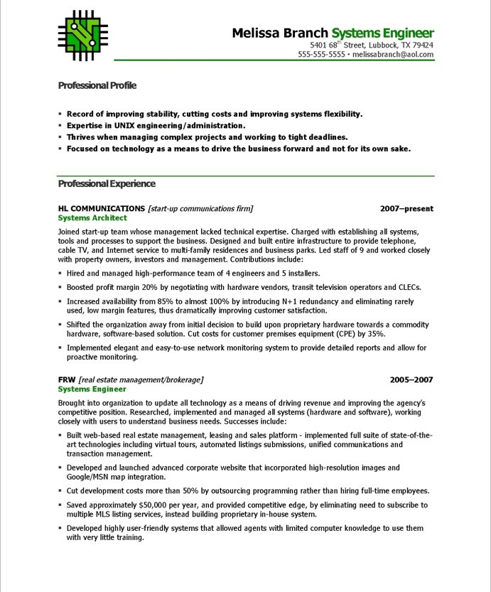 systems engineer free resume samples blue sky resumes system format 19after training new Resume System Engineer Resume Format