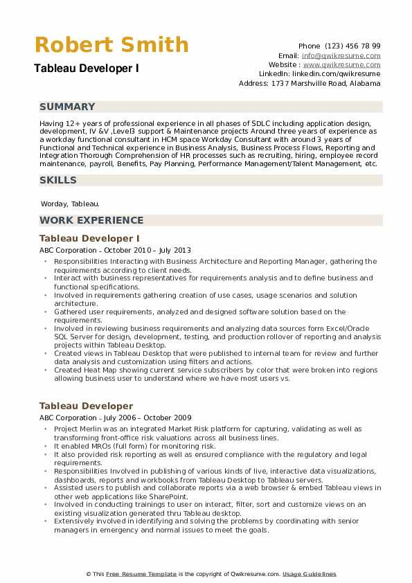 tableau developer resume samples qwikresume pdf susan britton whitcomb magic standard Resume Tableau Resume Download