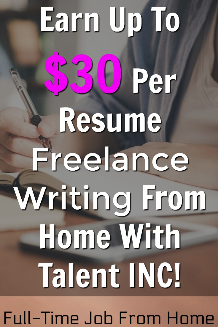 talent inc review is writing for scam full time job from home resume writer pay pin Resume Talent Inc Resume Writer Pay
