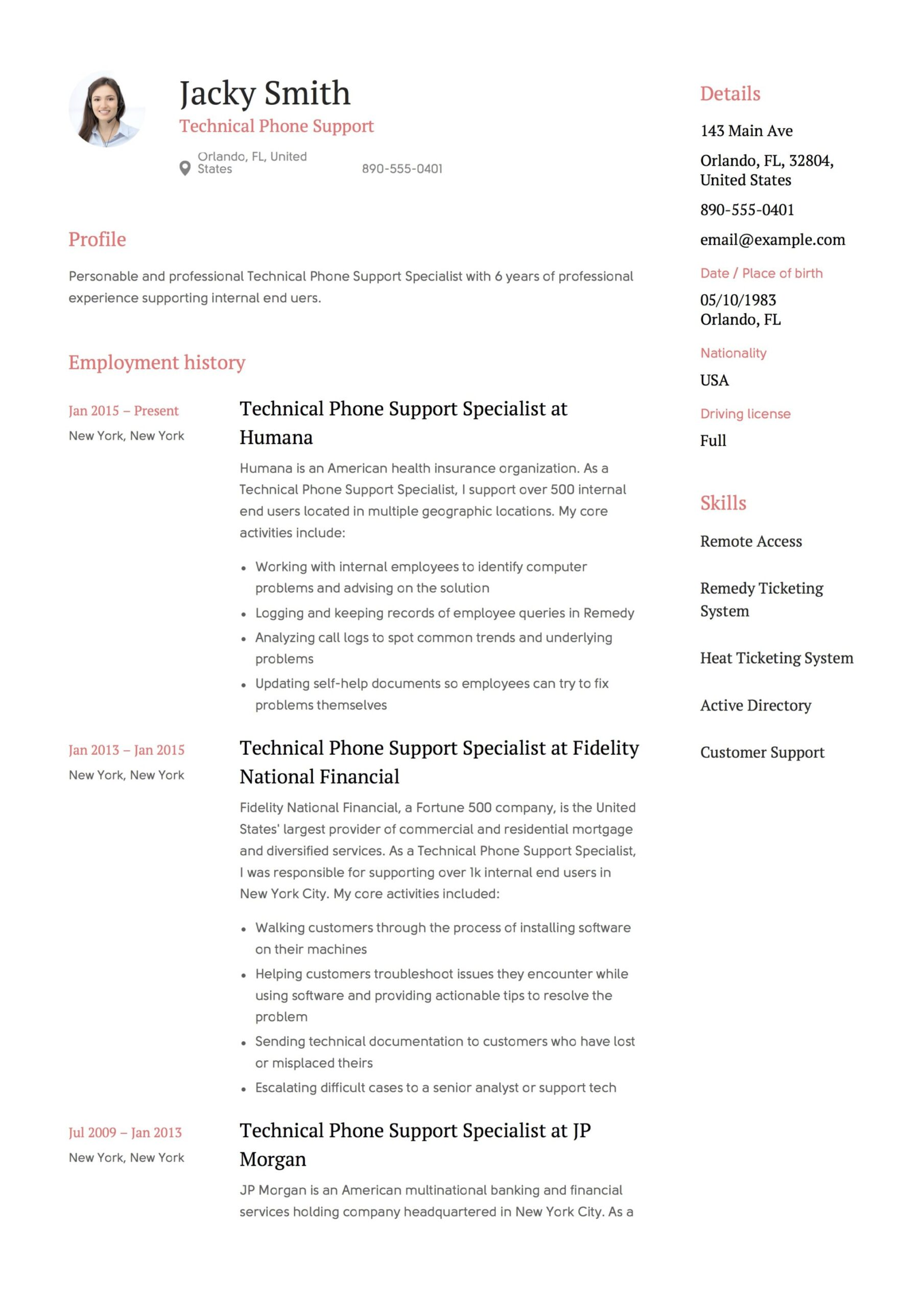 technical phone support resume guide examples pdf end user template free writing sites Resume End User Support Resume