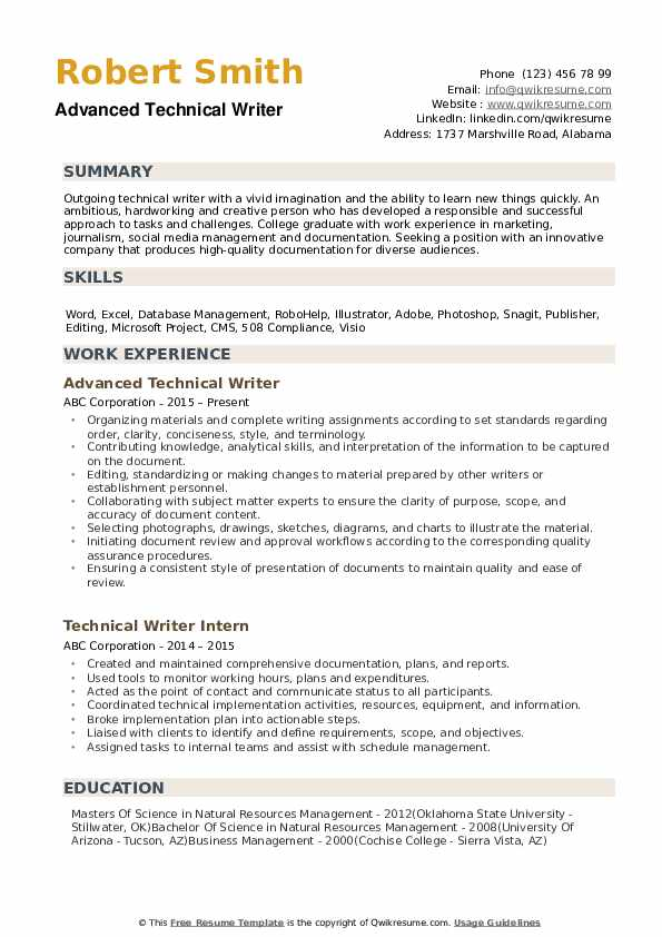 technical writer resume samples qwikresume template pdf content marketing sample strong Resume Technical Writer Resume Template