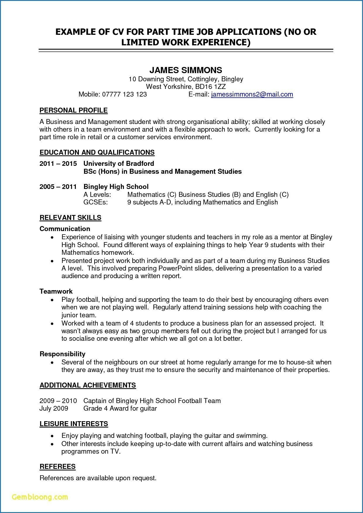 templates template for first time job resume free throughout part college student worker Resume First Time Worker Resume