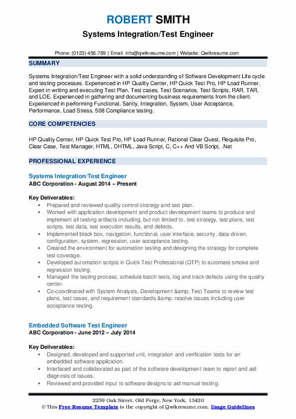 test engineer resume samples qwikresume sample for experienced pdf cover letter and Resume Sample Resume For Experienced Test Engineer