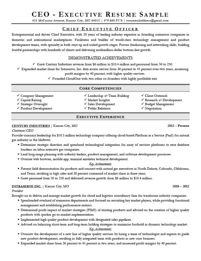 the best cv and résumé examples for your inspiration outstanding resume executive Resume Outstanding Resume Examples