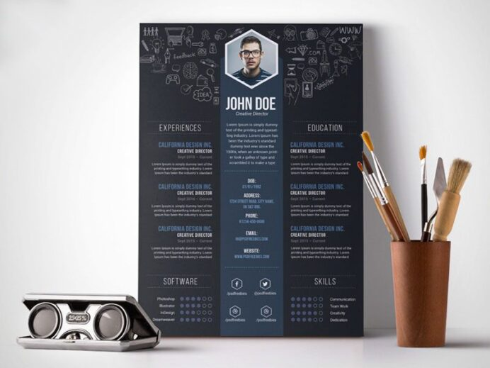 the best free resume templates creative bloq typography template lhjxtroapkqxmepm4mxqcr Resume Typography Resume Template