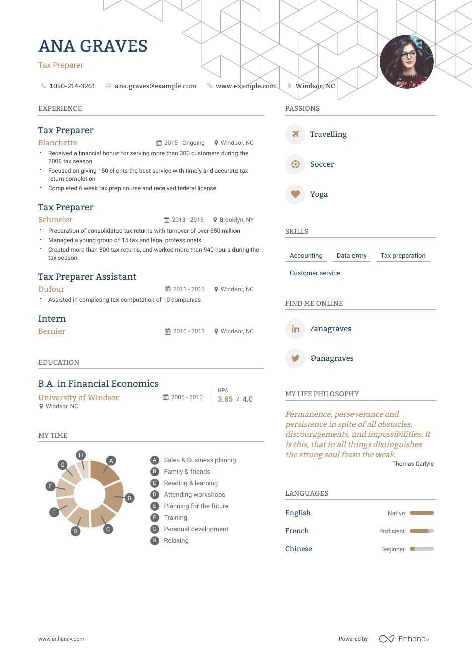the best tax preparer resume examples skills to get you hired job description Resume Tax Preparer Job Description Resume