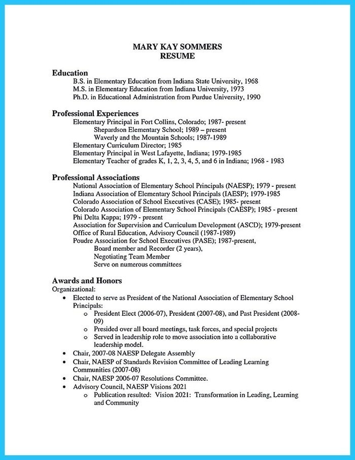 the best teaching cv examples and templates sample principal resume microsoft office free Resume Sample Principal Resume