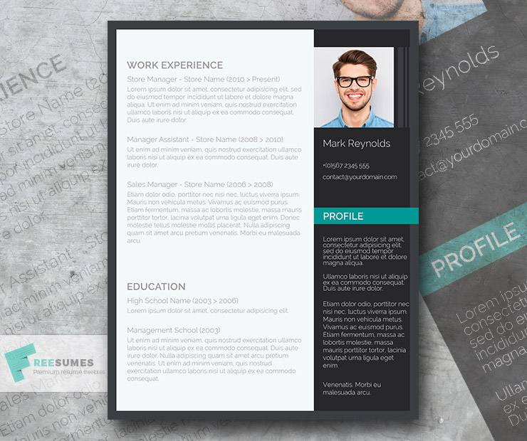 the modern professional free ultra creative cv template freesumes and resume objective Resume Creative And Professional Resume