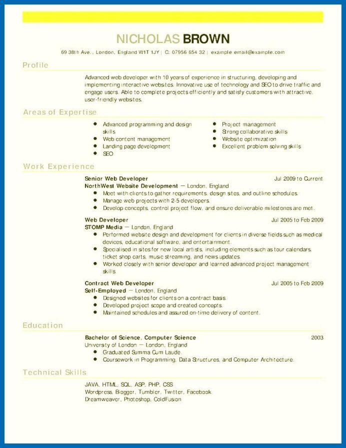 the muse free resume templates template professional sponsorship format with project Resume The Muse Resume Templates