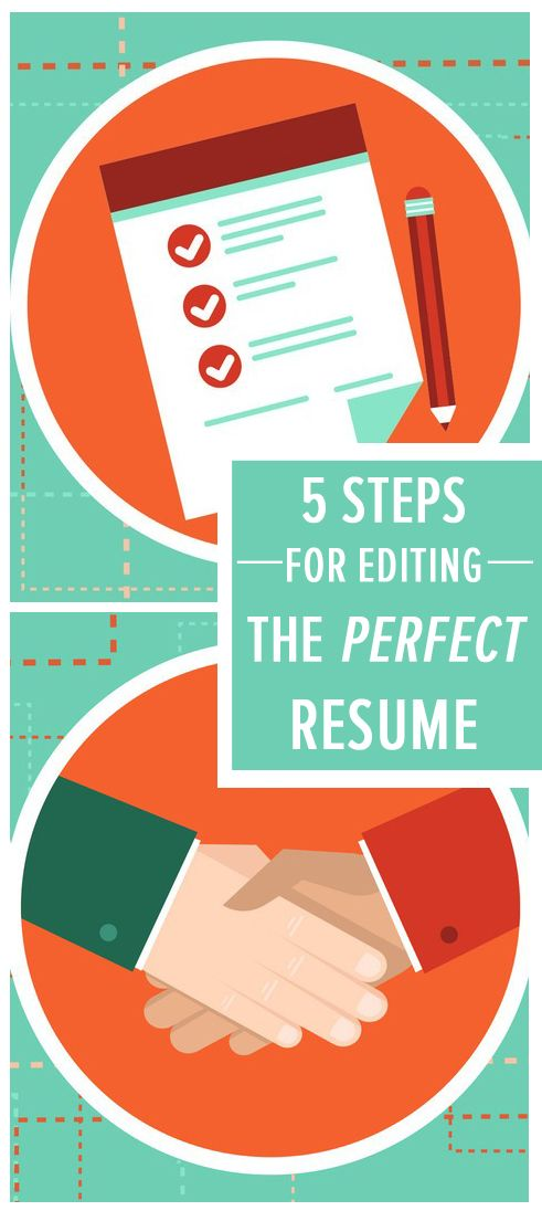 the step editing process for perfect resume job search tips make cover letter examples Resume Make Perfect Resume Step Step
