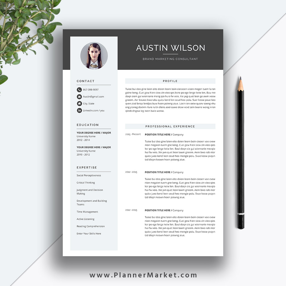 this eye catching resume template helps you get noticed letter size for ms office word Resume Eye Catching Resume Templates
