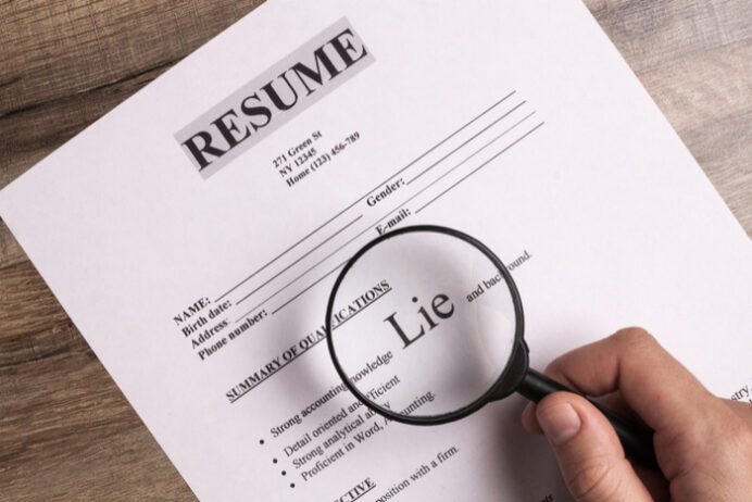this is happens when you lie on your resume softonic can accounting tally french teacher Resume Can You Lie On A Resume
