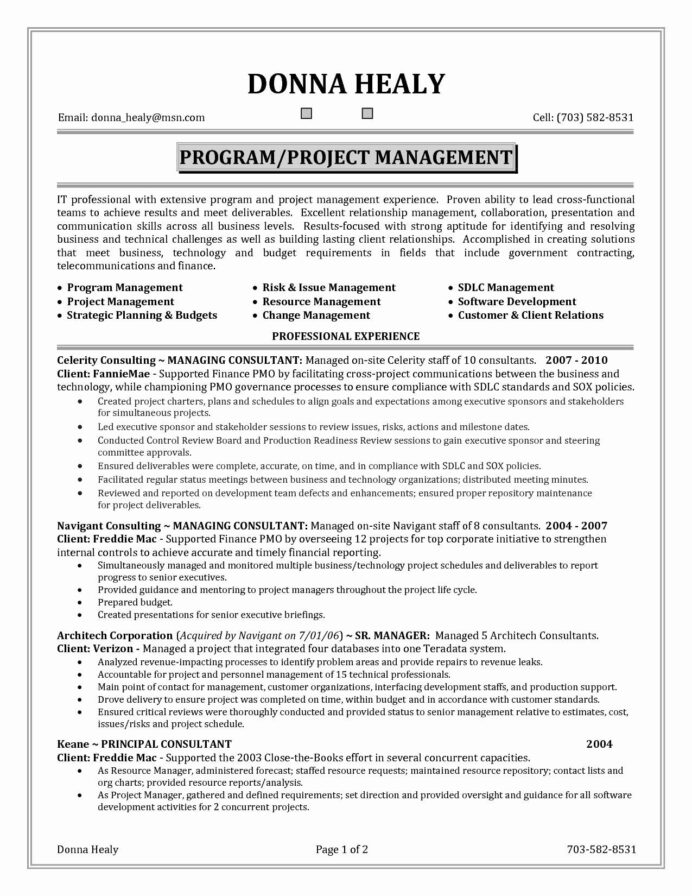 time management skills resume printable template in project manager planning for Resume Management Skills For Resume