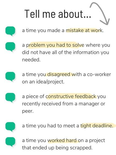 tips for tackling behavioral interview questions job advice answers resume debt collector Resume Resume Interview Questions