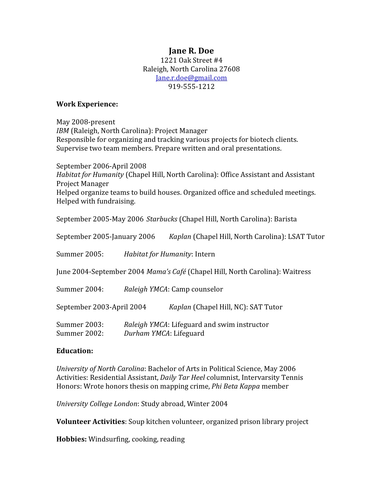 to craft law school application that gets you in sample resume teardown teardown1 Resume Law School Application Resume