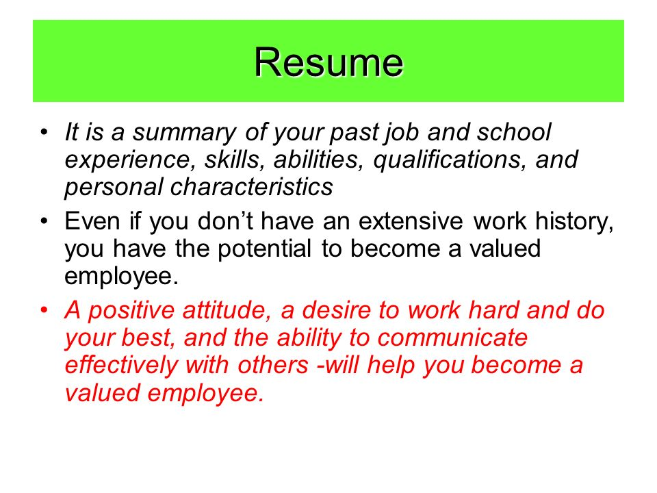 to create resume before getting started ask yourself the following questions about for Resume About Yourself For Resume