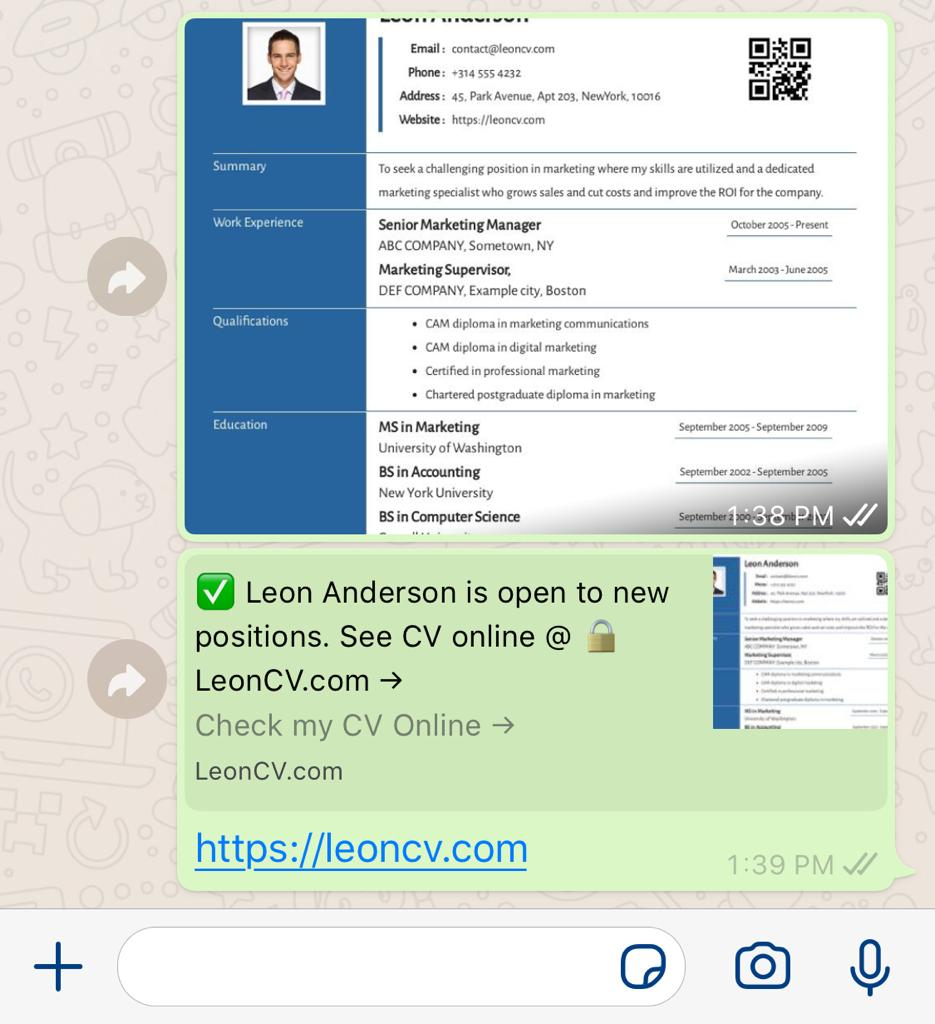 to email resume cv sending through responsivecv whatsapp on iphone template for fresh Resume Sending Resume Through Email