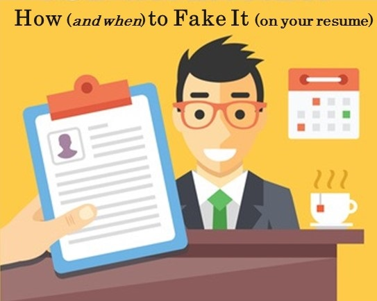 to fake it on your resume volunteer experience false information clinical dietitian cover Resume Fake Volunteer Experience Resume