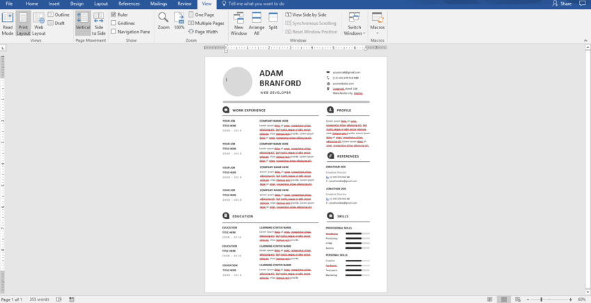 to make pro resume on word with creative template designs create microsoft image2 basic Resume Create Resume On Microsoft Word