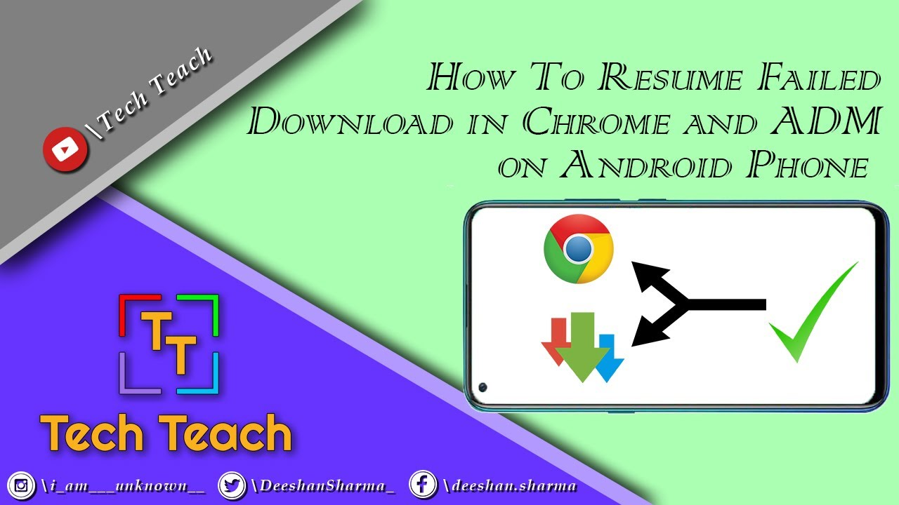 to resume failed or corrupted google chrome in adm on android phone hindi bartender Resume Resume Chrome Download Android