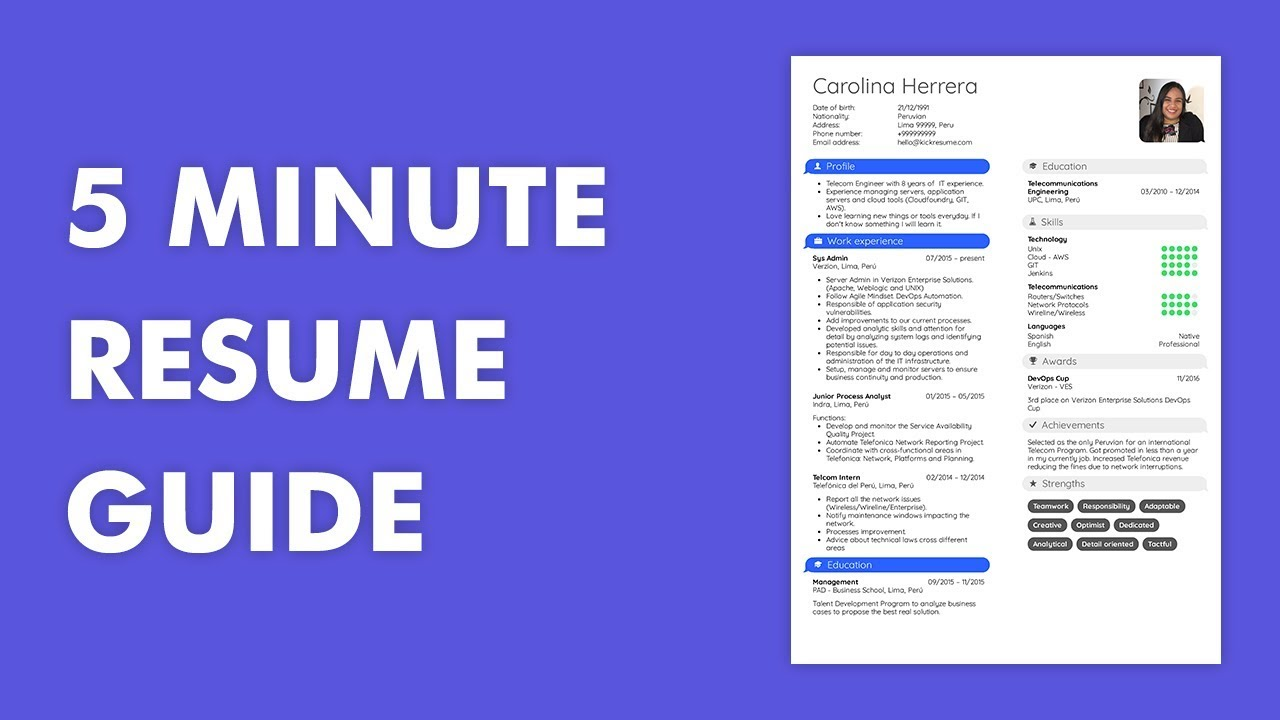 to write professional resume in step by guide with examples make perfect below short Resume Make Perfect Resume Step Step