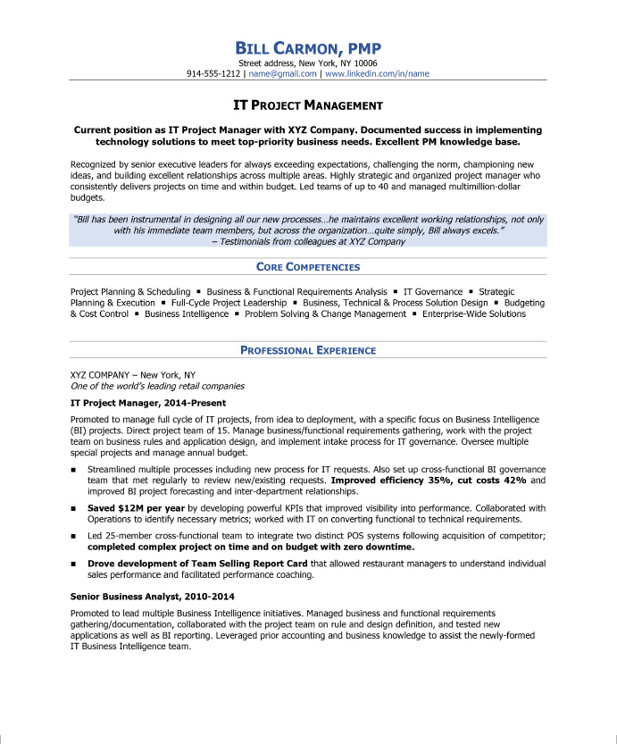 to write project manager resume blog blue sky resumes management professional sample Resume Project Management Professional Resume Sample