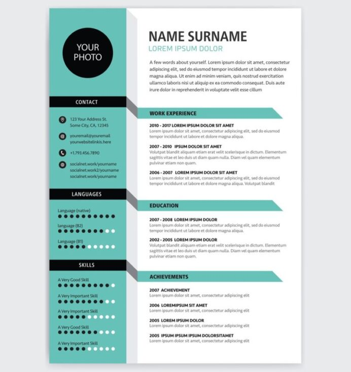 to write the perfect cv for work in canadianvisa org resume template free more generic Resume Canadian Resume Template Free