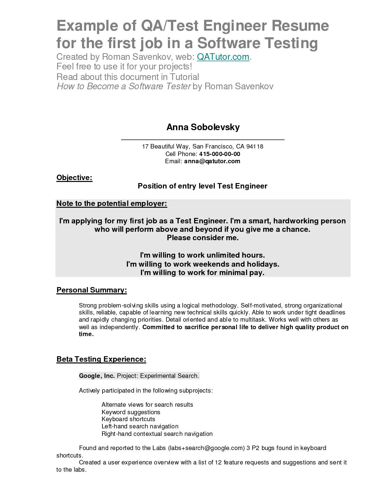 to write your first resume example seven things know before writing good objective for Resume Good Objective For Resume For First Job