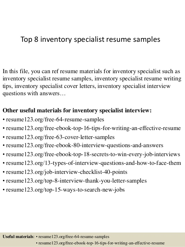 top inventory specialist resume samples profile examples entry level aerospace engineer Resume Inventory Specialist Resume