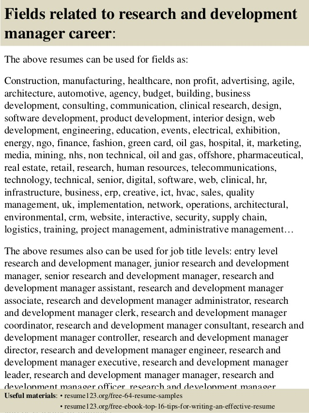 top research and development manager resume samples for pharmaceutical civil engineer Resume Resume For Pharmaceutical Research And Development