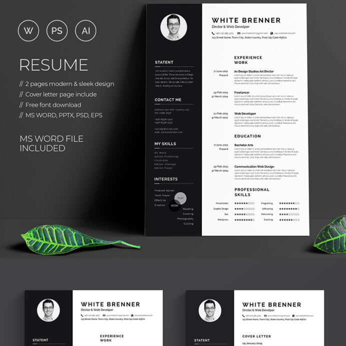 top resume templates for your employment decolore net contemporary free word big work Resume Contemporary Resume Templates Free Word