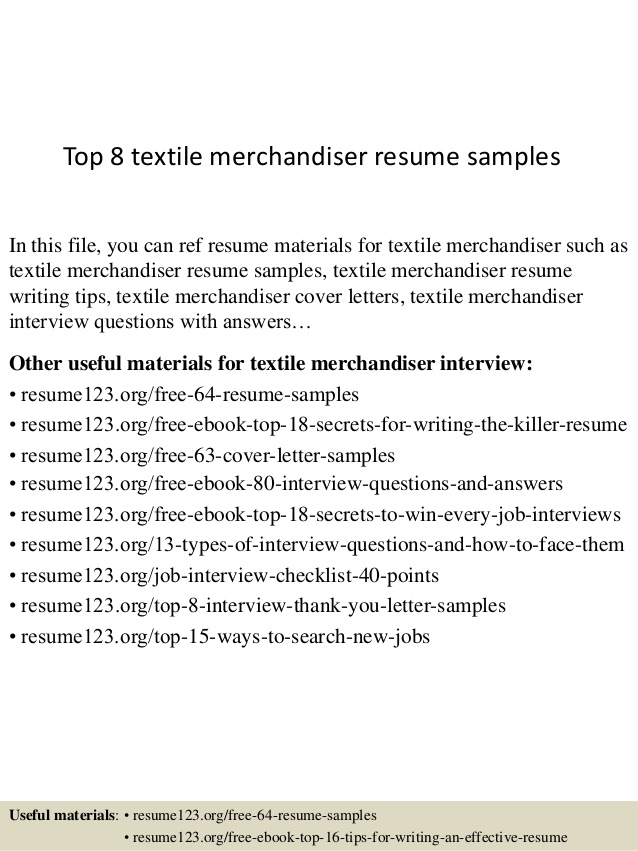 top textile merchandiser resume samples supervisor ballers licensed practical nurse elon Resume Textile Supervisor Resume