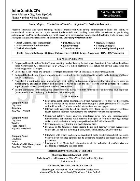 trader resume example september star format exfi19 flexible and adaptable middle school Resume September Star Resume Format