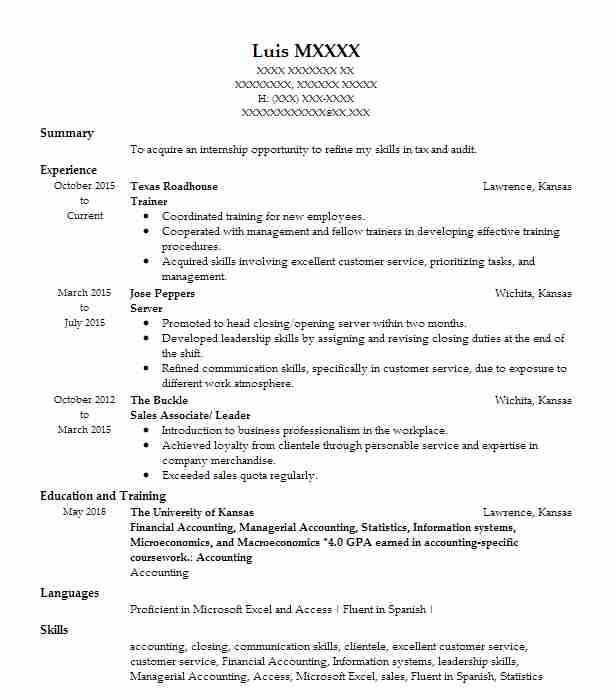 trainer resume examples format for position with landscape construction runway model Resume Resume For Trainer Position