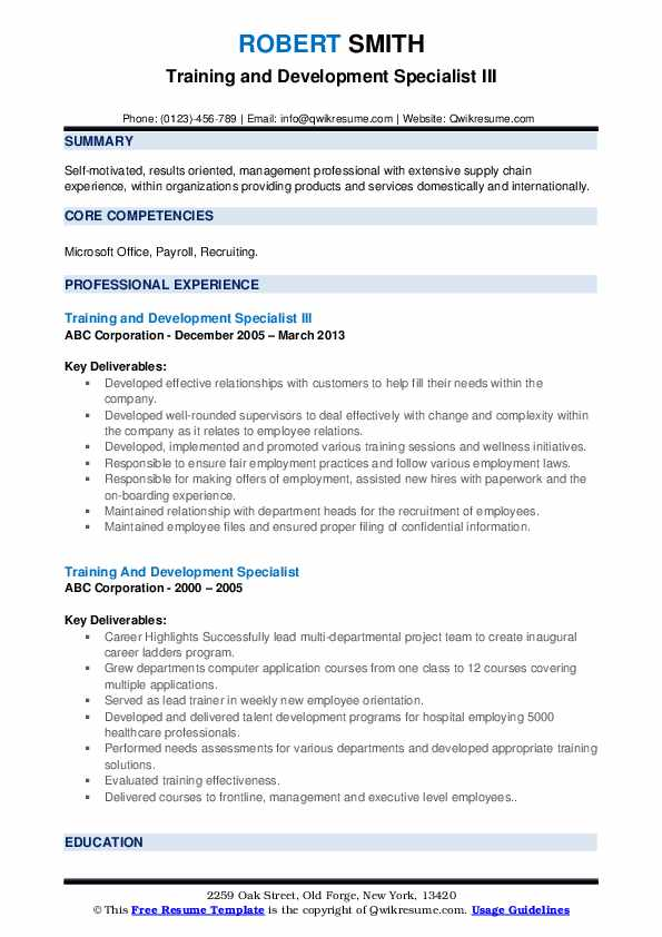 training and development specialist resume samples qwikresume learning pdf legal writing Resume Learning And Development Resume