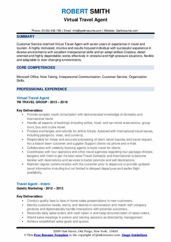travel agent resume samples qwikresume duties and responsibilities pdf beverage manager Resume Travel Agent Duties And Responsibilities Resume