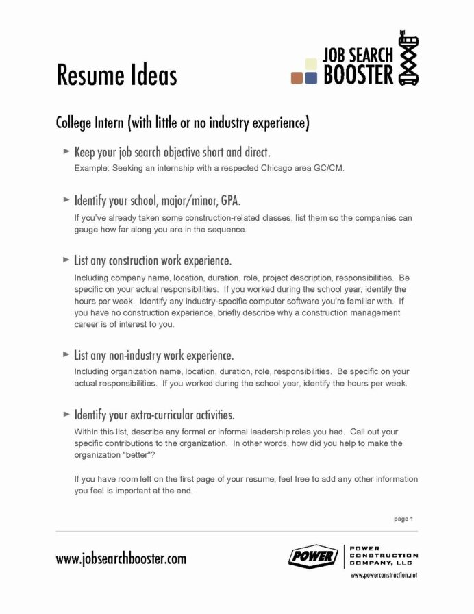 unique collection of resume objective examples for it job good first create own template Resume Good Objective For Resume For First Job
