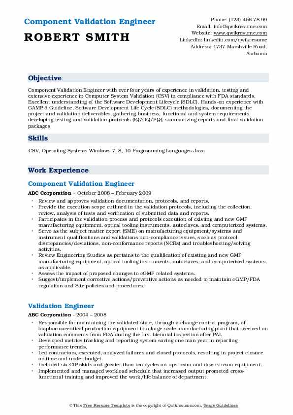 validation engineer resume samples qwikresume examples pdf direct support professional Resume Direct Support Professional Resume