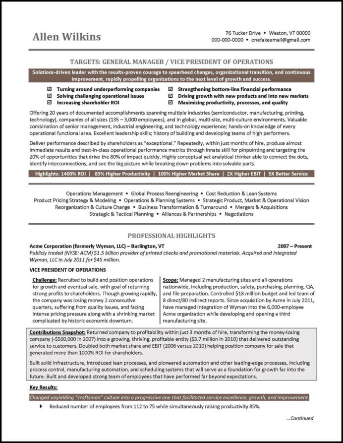 vice president resume example distinctive career services of marketing architecture Resume Vice President Of Marketing Resume