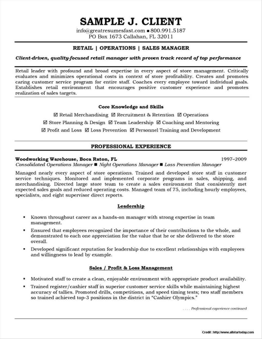 warehouse resume template free manager templates clerk retail examples simple for high Resume Warehouse Clerk Resume Examples