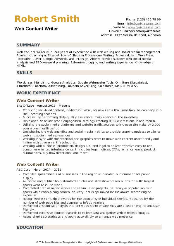 web content writer resume samples qwikresume pdf friendly name make better administrative Resume Content Writer Resume Samples