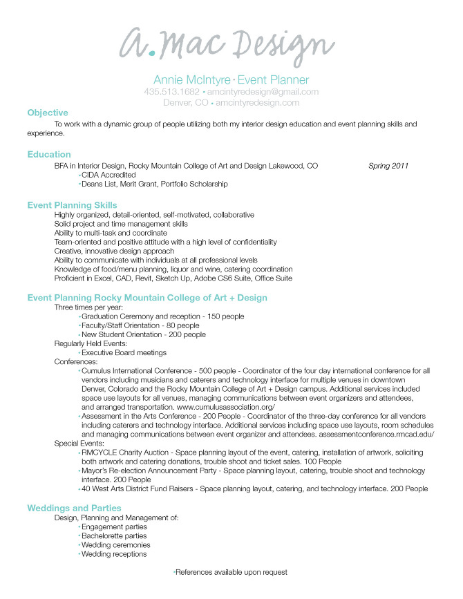 wedding planner resume objective event commodity trader sample comedy template overview Resume Wedding Planner Resume Objective