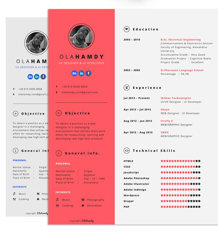well designed resume examples for your inspiration desain cv functional example Resume Well Designed Resume Examples