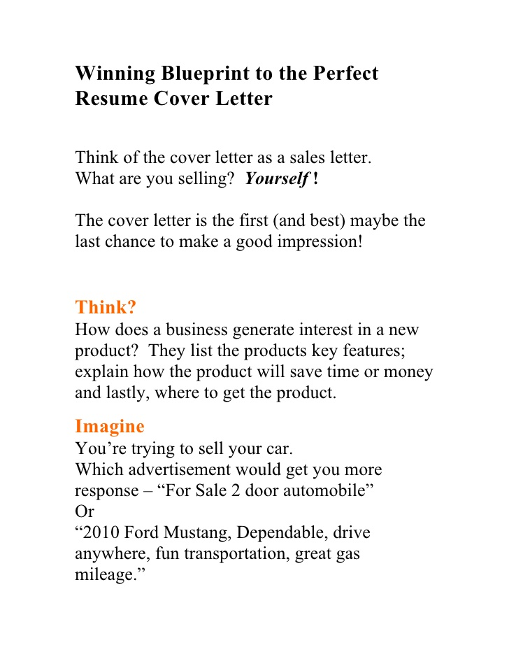 winning blueprint to the perfect resume cover letter best books for and writing types of Resume Best Books For Resume And Cover Letter Writing