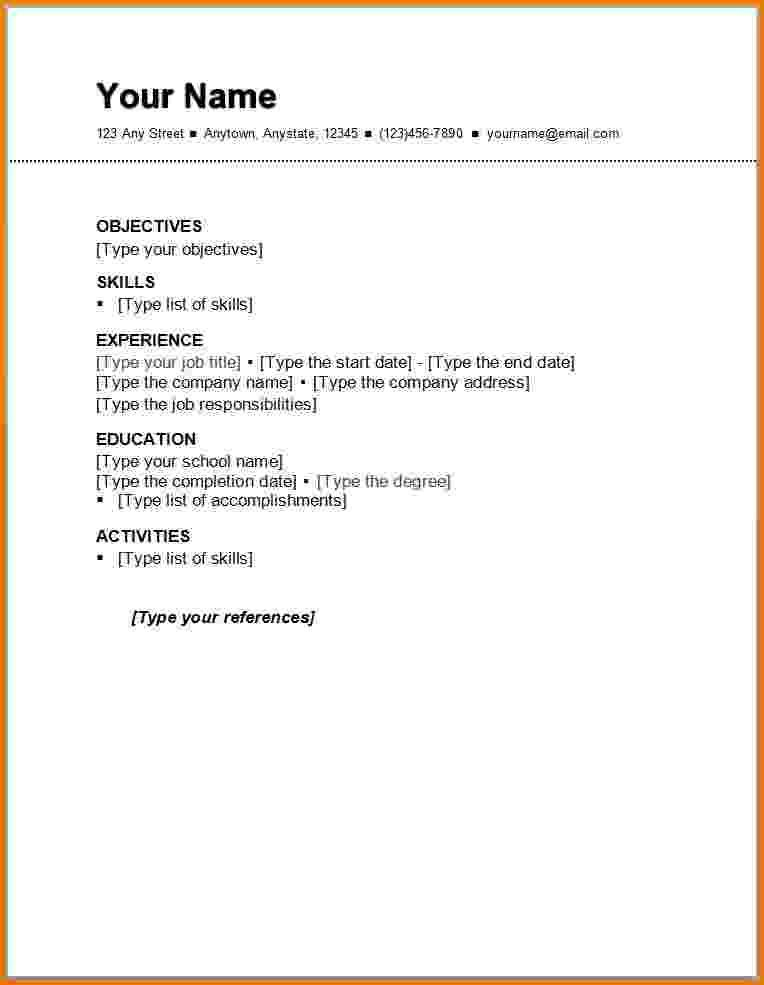 with resume format for first job sports management business communication example livre Resume Resume Format For First Job