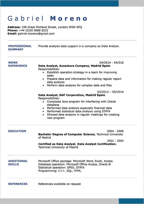 word resume samples format example template by equity trader examples buttigieg Resume Example Resume Template Word