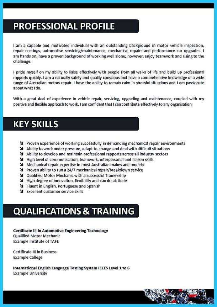 writing concise auto technician resume body objective examples community support Resume Auto Body Resume Objective Examples