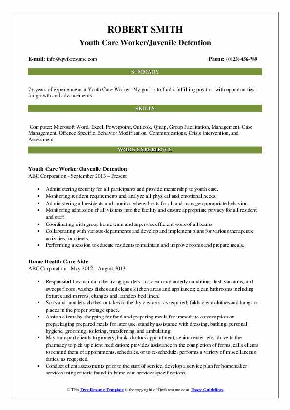 youth care worker resume samples qwikresume experience working with pdf lead bartender Resume Experience Working With Youth Resume